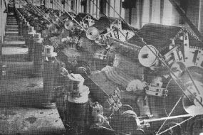 Cotton spinning factory in Erevan