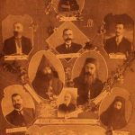 Founding members of AGBU branch of Kesaria, 1910