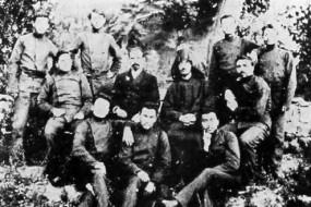 Komitas Vartabed with friends – 1904