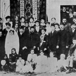 Wedding in Kesaria on November 7, 1911.
