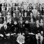 Students of Armenian school - 1904