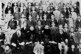 Students of Armenian school – 1904