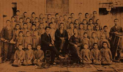 Orphanage in Sebastia – 1902