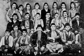 Students and teachers – Kharpert 1883
