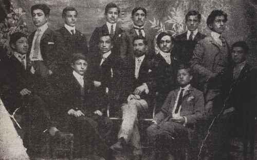 Teachers from the Malatia Yeprad college