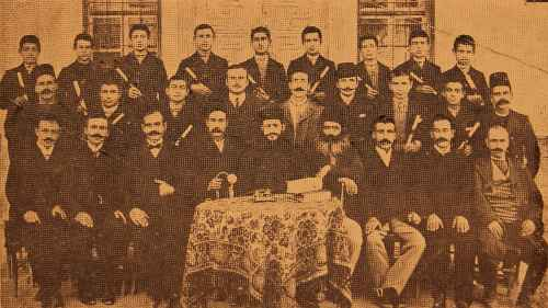 Graduates of the Armenian orphanage – Sebastia 1909