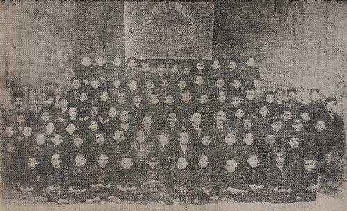 Schoolgroup of Malatia Sahagian Mayr College – 1914