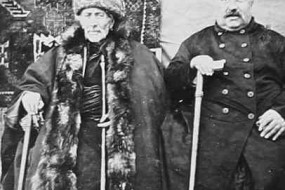 Ara Babayan and Mr Bayendourian