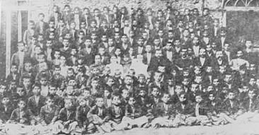 Armenian orphan boys