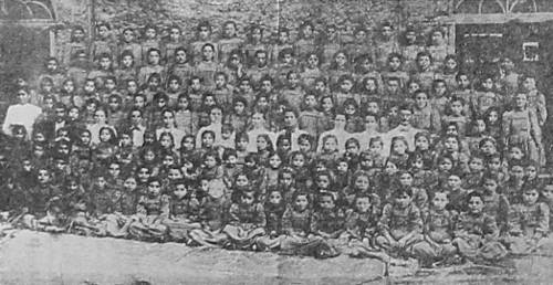 Armenian orphan girls