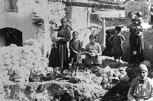 Armenian survivors – Syria