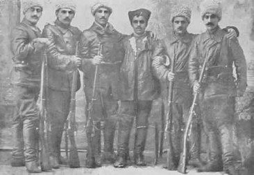 Armenian volunteers from Garin