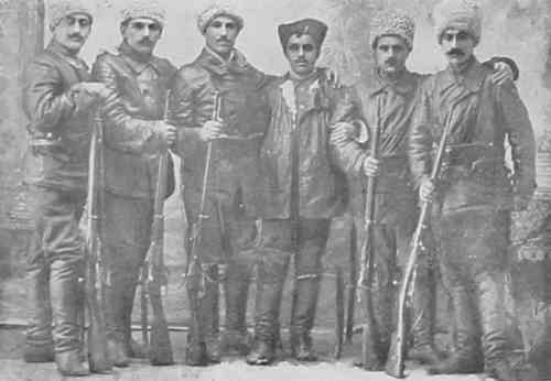 Armenian volunteers from Garin