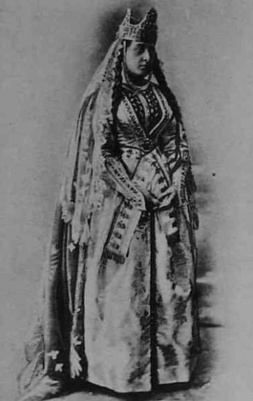 Armenian woman in ceremonial dress