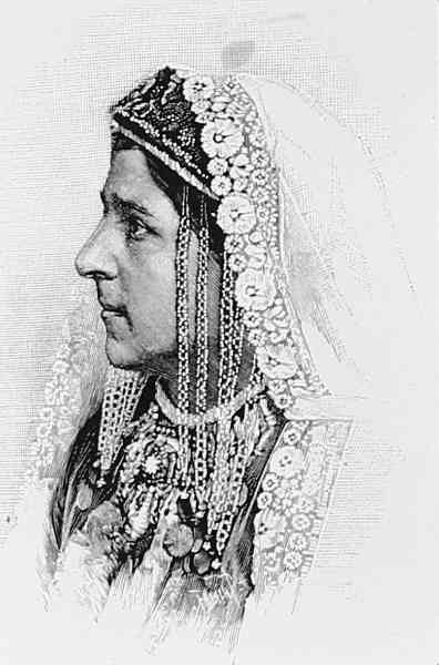 Armenian woman – Akhaltsikh 1892
