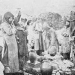 Armenian women at the fountain - Mokhrapert