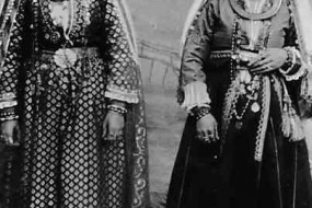 Armenian women in ceremonial dress