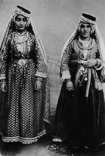 Armenian women in ceremonial dress