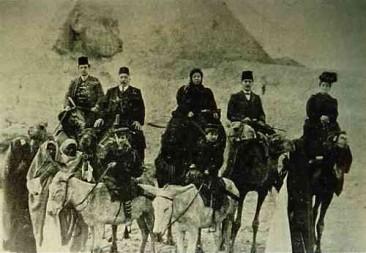 Armenians travelling to Jerusalem