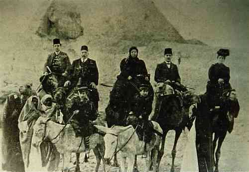 Armenians travelling to Jerusalem