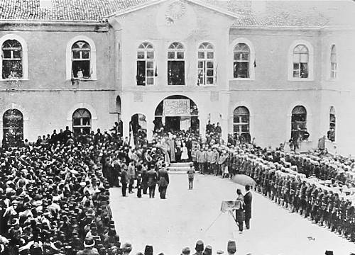 Ottoman ceremony in Mezire