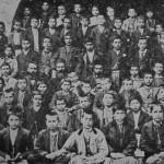 Schoolboys and teachers - Everek