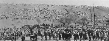 The saved inhabitants of Musa Dagh