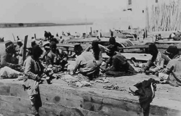 Workers in Birejik