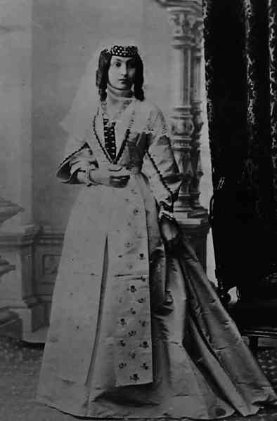 Young Armenian woman