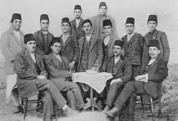 Young Armenian men – Kharpert