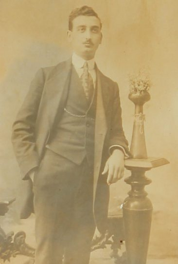 Unidentified Armenian man – Constantinople 1913