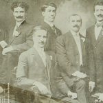 Teachers of the Armenian school of Sebastia (Sevaz) in 1909 (at the center Mr Djeranian)