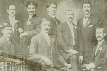 Teachers of the Armenian school – Sebastia 1909