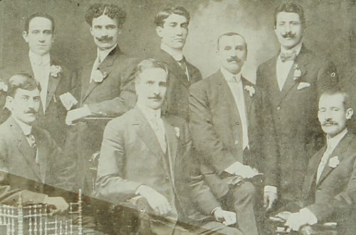 Teachers of the Armenian school – Sebastia 1909