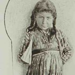 A young girl from Sis - 1898
