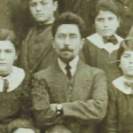 Aram Manukian at the school of Ordu - 1902