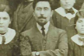 Aram Manukian at the school of Ordu – 1902
