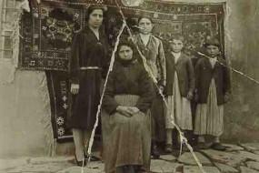 Armenian family Kurdian – Gurin 1925