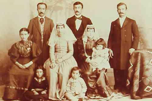 Armenian family – Teheran 1898