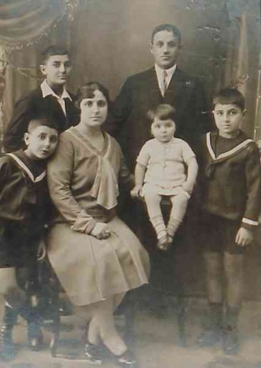 Armenian parents and children