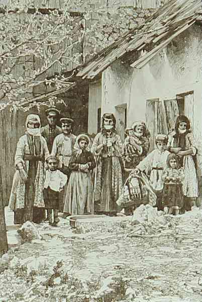Armenians – Shushi 1891