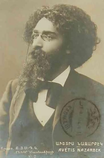 Avedis Nazarbek, founder of the Hnchaks