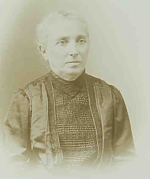 Unidentified woman – 1905