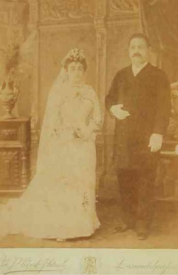 A.F. Dedefdjian in Scutari – 1892