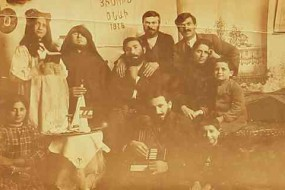 Celebration of the birth of Jesus Christ – 1916