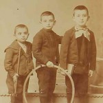 Armenian children - Constantinople 1900