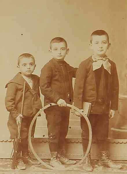 Armenian children – Constantinople 1900
