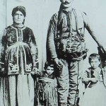 Daniel Varoujan with his parents - Constantinople 1890