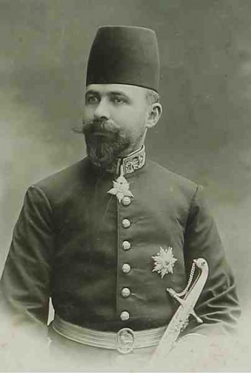 Dikran Kelekian, consul of Persia – New York 1902