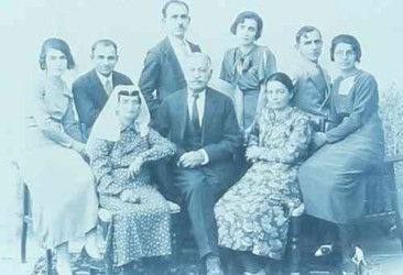 Armenian family from Teheran